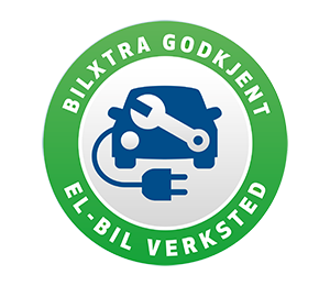 logo for godkjent bilverksted for elbiler