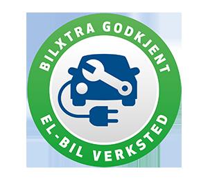 logo for godkjent bilverksted for elbiler